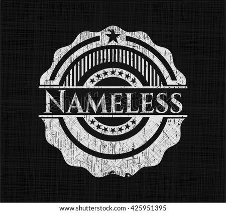 nameless chalkboard emblem