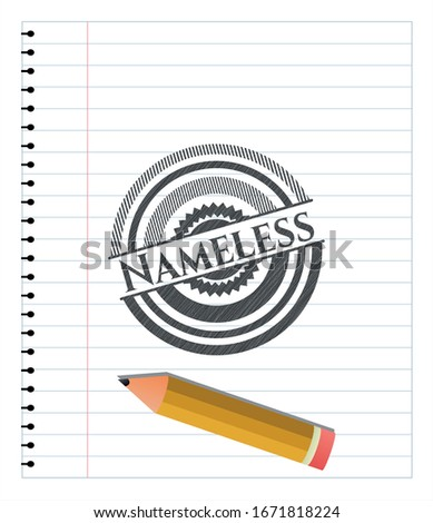 nameless draw with pencil