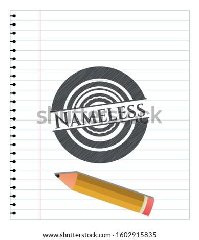 nameless pencil draw vector