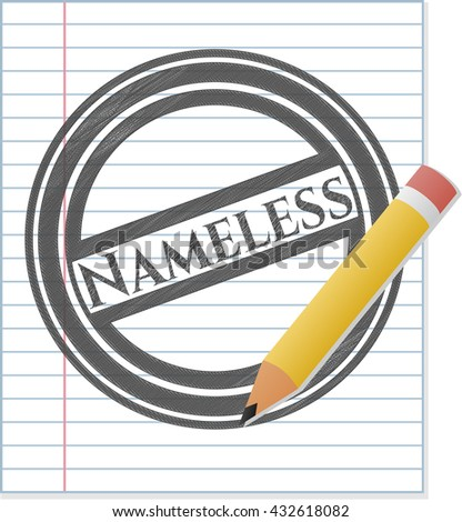 nameless pencil strokes emblem