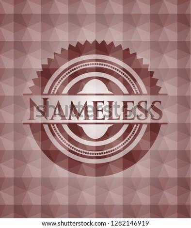 nameless red seamless geometric