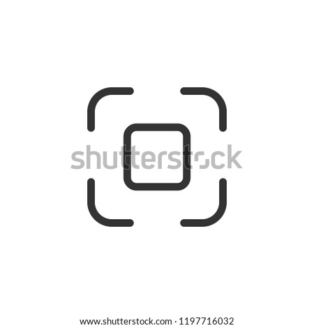 Nametag icon. Interface social media. Function to add friends. Vector illustration.