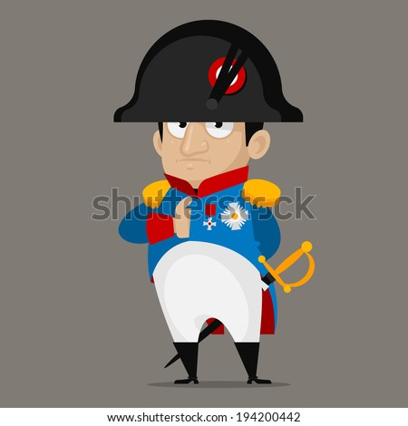 napoleon bonaparte cartoon