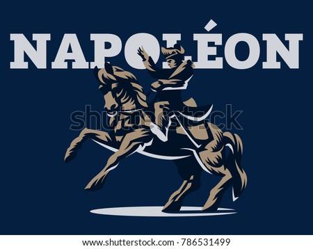 napoleon bonaparte on horseback