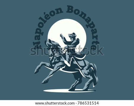 napoleon bonaparte on horseback