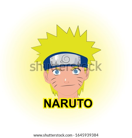 naruto anime cartoon vector