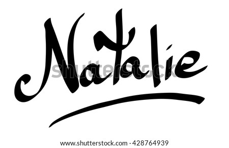 natalie female name street art