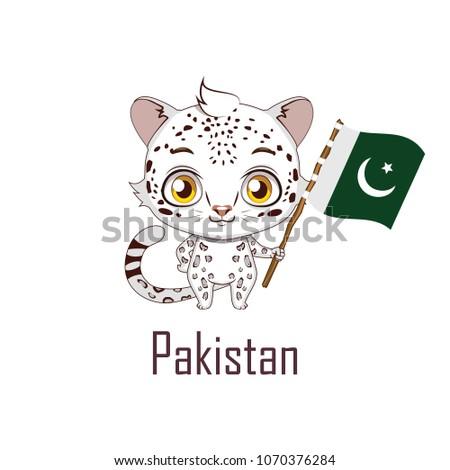 national animal snow leopard