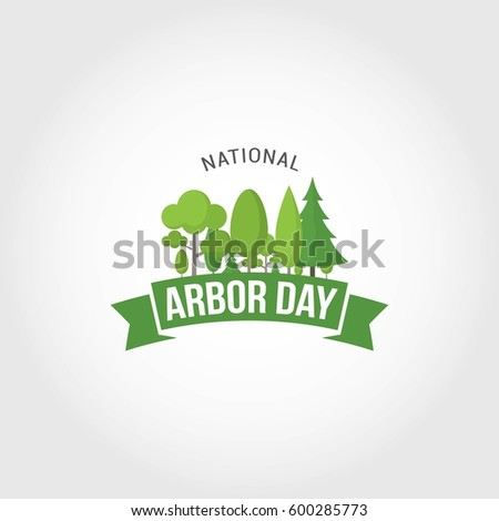 national arbor day vector
