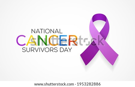 National Cancer survivors day is observed every year in June, it is a disease caused when cells divide uncontrollably and spread into surrounding tissues. Cancer is caused by changes to DNA. Stock photo ©