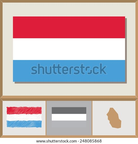 national flag and country