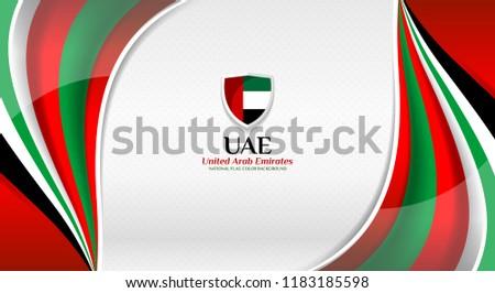 national flag color of united