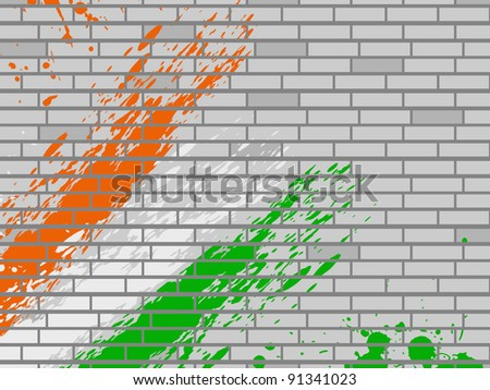 Green National Flag National Flag Colors Theme in