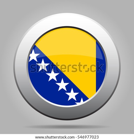 national flag of bosnia and