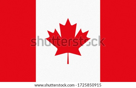 national flag of canada with