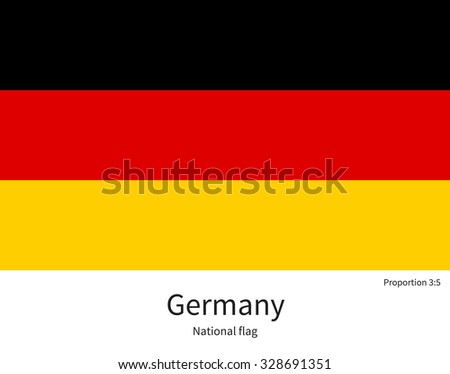 national flag of germany with