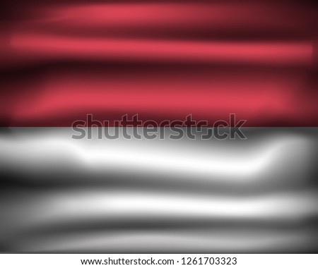 national flag of monaco mc