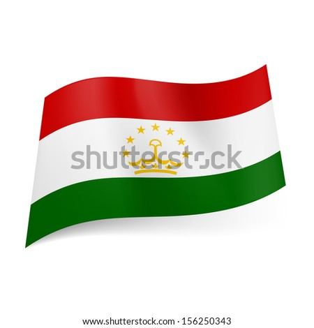 National Flag Green White Red Red White And Green