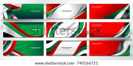 national flag of united arab