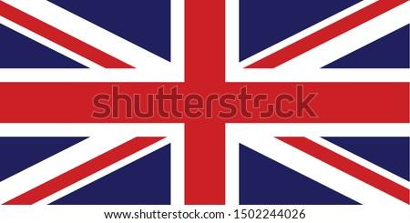 National Flag of United Kingdom - Great Britain, Union Jack