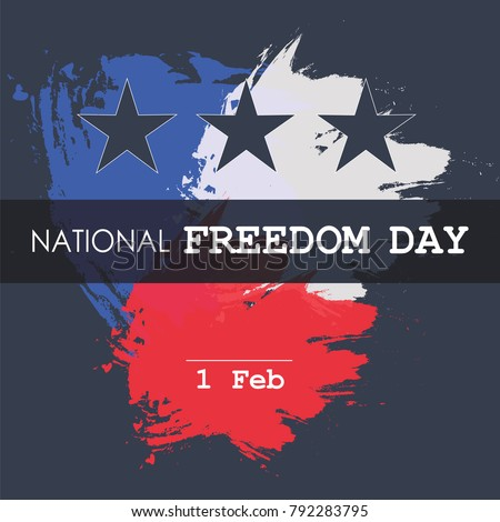 national freedom day  1st of