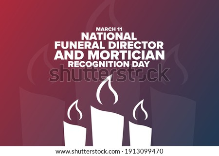 national funeral director and