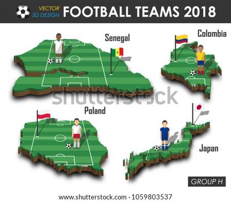 national soccer teams group h