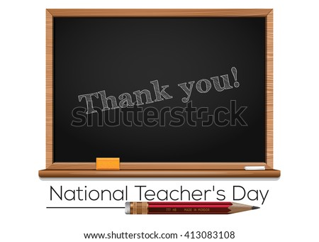national teacher's day teacher