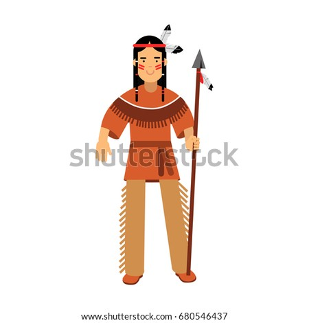 native american indian in