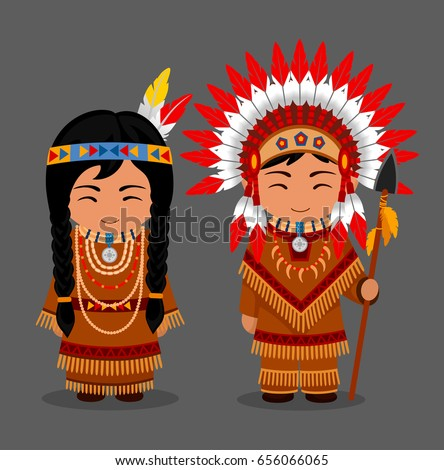 native american indians in...