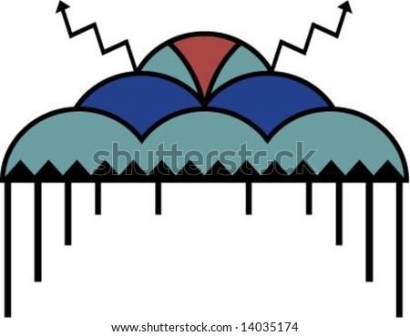 native american rain cloud