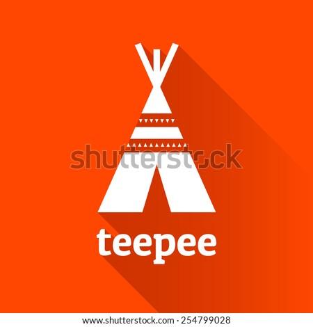 native american teepee tent...
