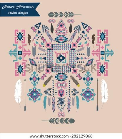 native american tribal design....