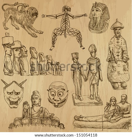 native and old art around the