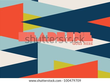 Native Pattern Layout Graphic Design Poster Background