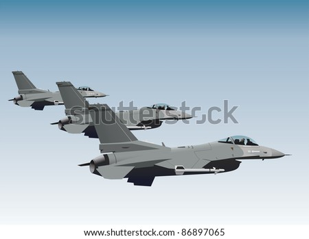 nato fighter jets in formation