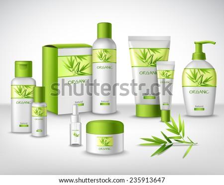 natural bamboo herbal cosmetic