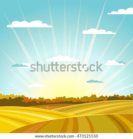 natural country fields and