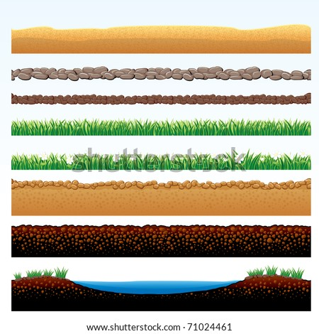 natural grass and ground