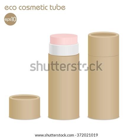 natural kraft paper cosmetic