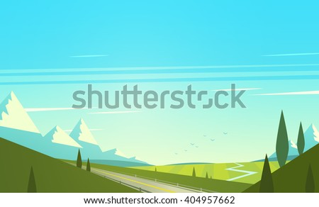 natural landscape with