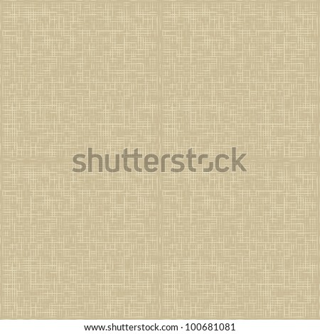 Natural linen seamless pattern. Natural linen striped uncolored textured sacking burlap background