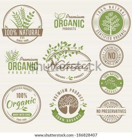 Natural Organic Labels