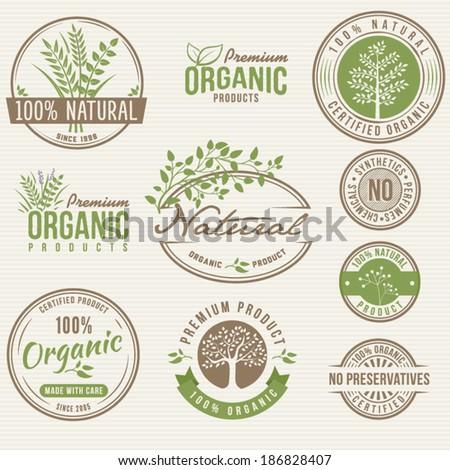 Natural Organic Labels