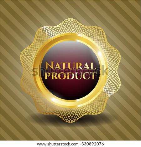 Natural Product gold badge