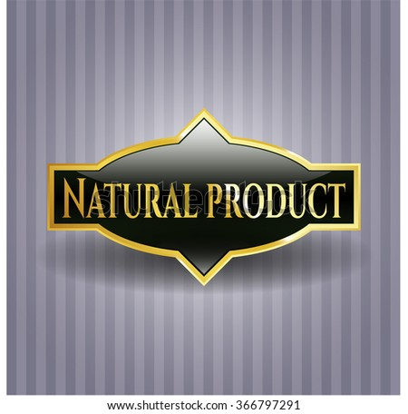 Natural Product gold badge