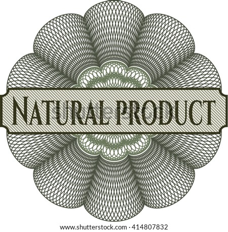 Natural Product linear rosette