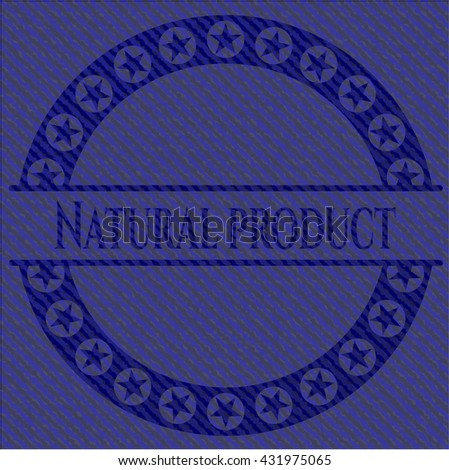 Natural Product with jean texture