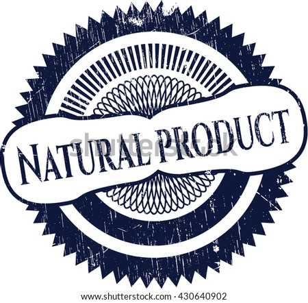 Natural Product with rubber seal texture