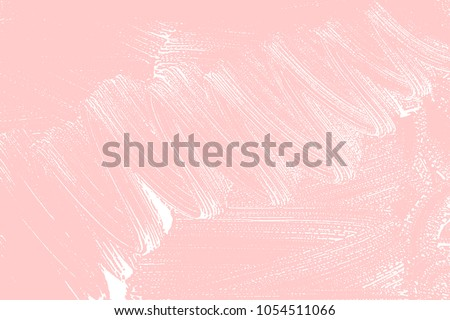 Natural soap texture. Alive millenial pink foam trace background. Artistic alluring soap suds. Cleanliness, cleanness, purity concept. Vector illustration.
